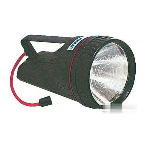 Lanterna impermeabile e galleggiante a luce alogena