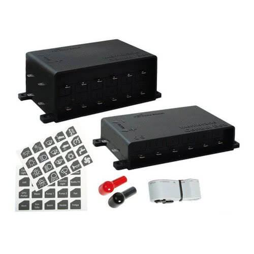 Pannello elettrico touch control ultra sottile for Interruttori touch
