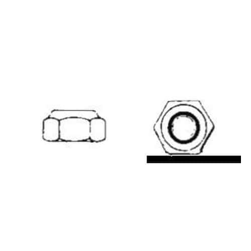 Dadi esagonali autobloccanti tipo alto DIN 982