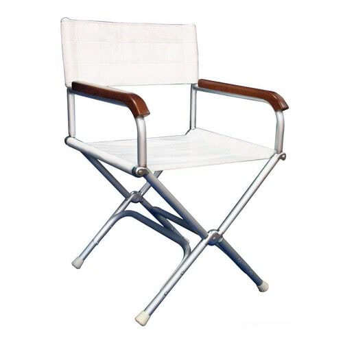 Anodized aluminium Director's folding chair