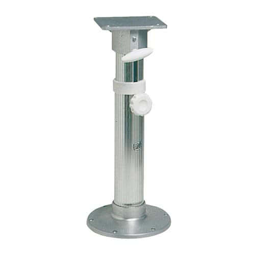 48 665 02 Anodized Aluminium Swivel Pedestal With Seat