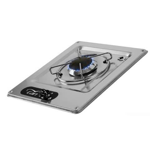 Piano cottura ad incasso in acciaio inox - Piani cottura da esterno ...