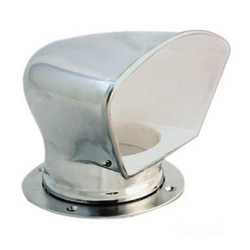 Deluxe stainless steel cowl vent osculati