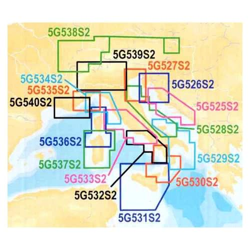 """CARTUCCIA """"SD"""" Navionics Gold Small - Area 5G531S2 - SICILIA"""