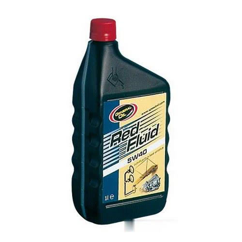 GENERAL OIL Red fluid