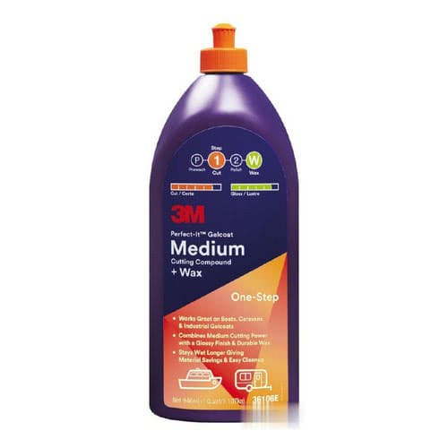 Medium Cutting Compound + Wax - Polish for medium oxidation