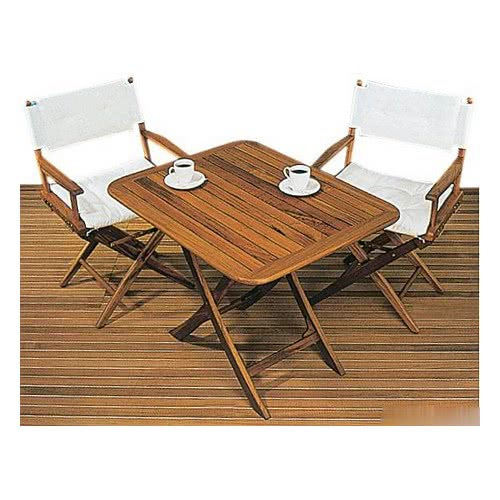 comfort a bordo teak tavoli e sedie arc in teak