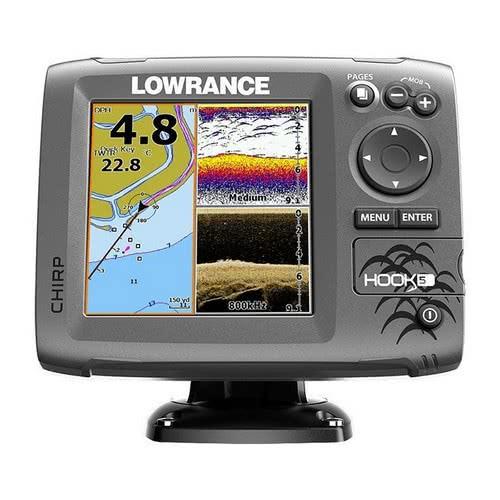 Lowrance Hook-5 without Transducer COMBO Eco / GPS