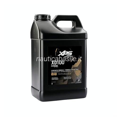 Olio Evinrude XD100 10LT per motori fuoribordo E-TEC